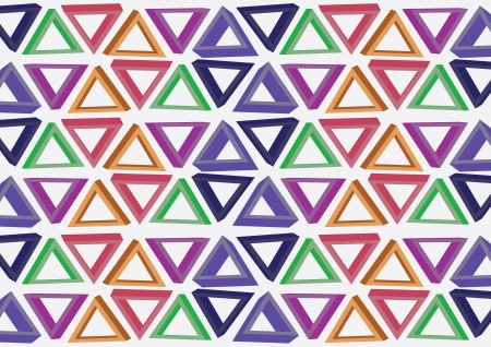 consist: Background design consist of multicolored triangles  illustration