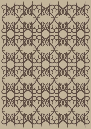 decorative design Vintage background Stock Vector - 18209317