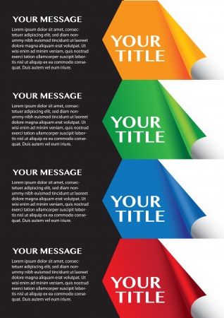 Colorful layout Design template for multi uses