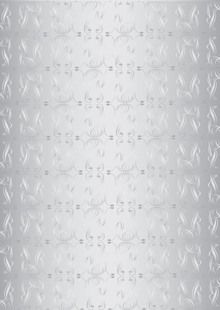 swish: Abstract vector background in silver grey with vignette texture in seamless repeat pattern