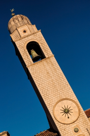 15th century: Clock Tower is a landmark of the Dubrovnik old town  Bult in 15th century, it is located at Luza Square, adjacent to the Sponza Palace and faces Sveti Vlaho  Saint Blaise  Church, the patron Saint of Dubrovnik