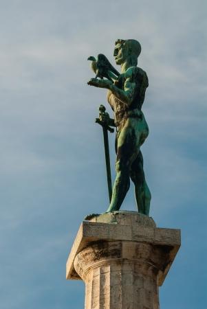 winning location: Victor Monument