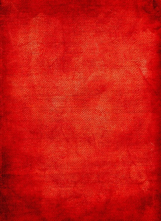 Red background texture of linen.