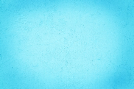 Aqua color on a solid stone wall as background texture  Stock Photo