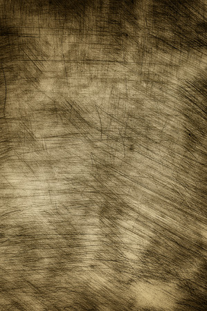scratches: Plastered wall in sepia with heavy scratches.