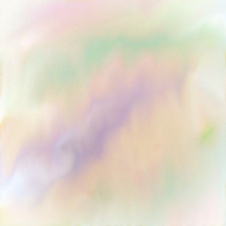 Soft digital watercolor painting in pastel spring colors. Stock Photo