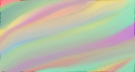 Pastel rainbow, soft watercolor on paper painting. Stock Photo