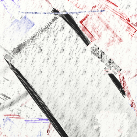 dry brush: Sparse dry brush abstract on paper.