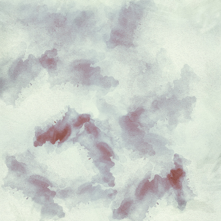Pale pastel watercolor on rough canvas as background texture. Stock Photo