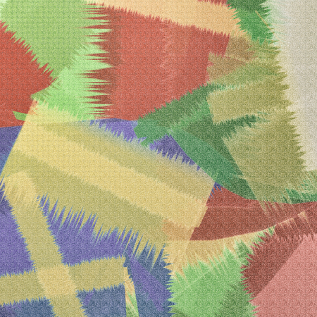 Retro patchwork on paper as background.