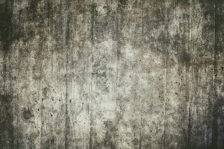 Old damaged wall of concrete, retro style.