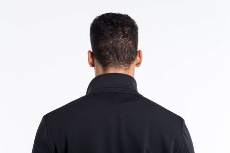 back view of a man Banque d'images