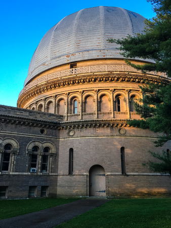 Yerkes Observatory at Sunrise Banque d'images