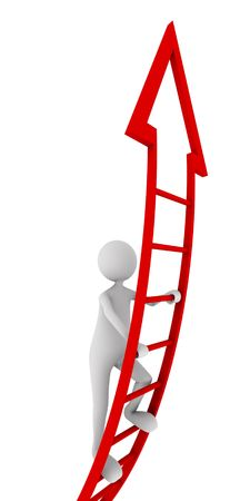 strive: Red ladder of success