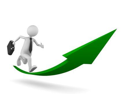 success man: Road to Success