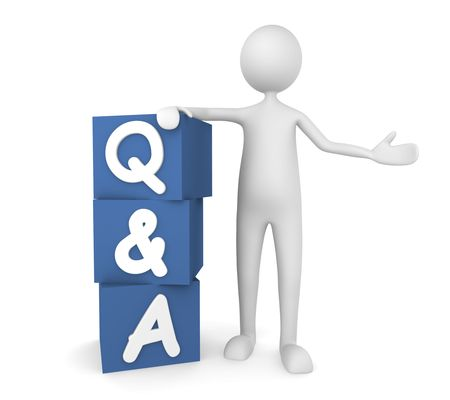 Questions and Answers Stock Photo - 7163496