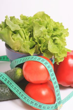 Selection of the most poulares vegetables, a healthy diet