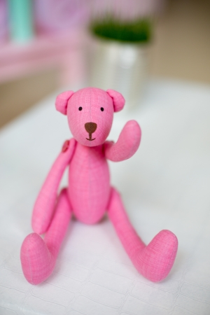 Tilde toy ,pink handmade teddy photo