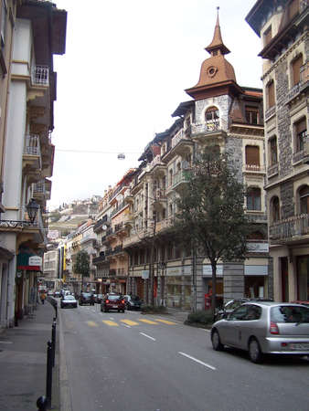 montreux: Street in Montreux