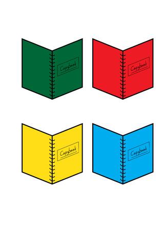 copybook: School copybook vector