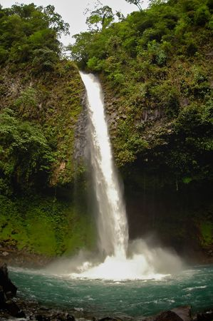 La Fortuna Waterfall, Costa Rica photo