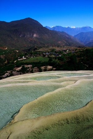 calcification: calcification landscape - lijiang