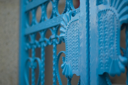 the humanities landscape: Blue gate