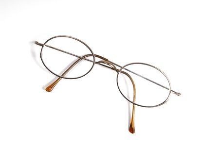 A pair of antique glasses