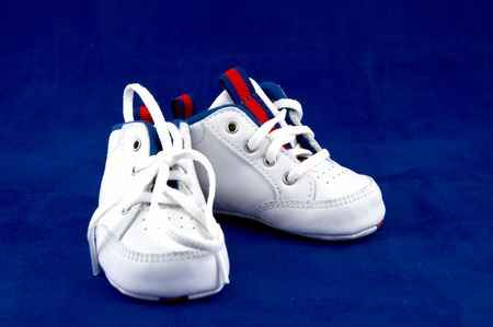 tred: Childrens soft white boots Childrens boots