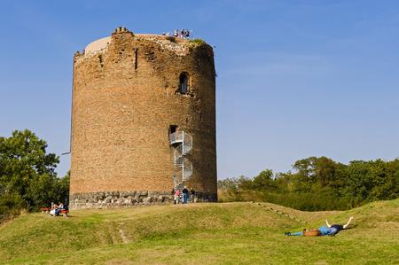 lower value: Donjon of Stolpe Castle, Stolpe, Brandenburg, Germany