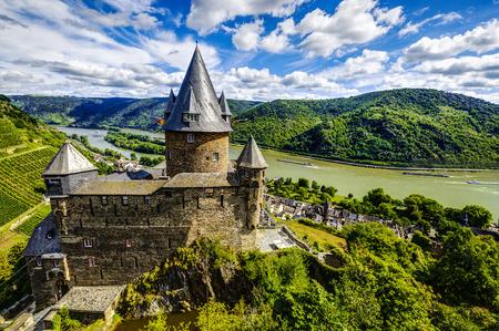 rhein: Stahleck Castle, Bacharach, Rhineland-Palatinate, Germany