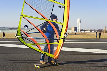 sportingly: Windskaters at Tempelhof Park, former Tempelhof Airport, Berlin, Germany