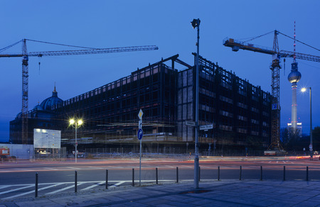 ambiance: Deconstruction of Palast der Republik (Palace of the Republic), Berlin, Germany