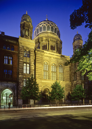 synagogues: New Synagogue, Berlin, Germany