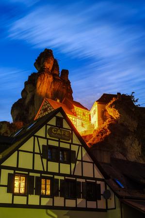 schweiz: Fraenkische Schweiz Museum in Tuechersfeld, Little Switzerland, Bavaria, Germany Editorial