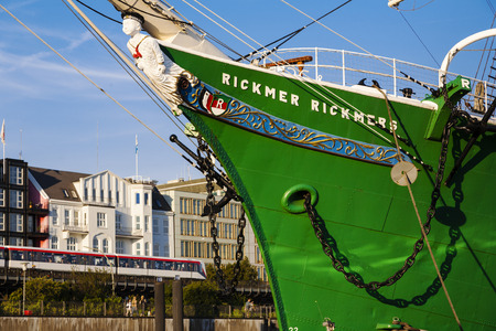 Tall Ship Rickmer Rickmers, Hamburg, Germany