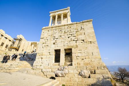 archaeologically: Temple of Athena Nike, Acropolis, Athens, Greece