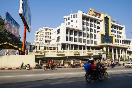 Mandalay Central Railway Station, Shan-State, Myanmar, Asia
