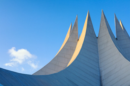 Roof of the Tempodrom event venue in Berlin Germany