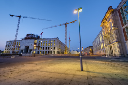 Building site Palace Berlin Berlin Germany