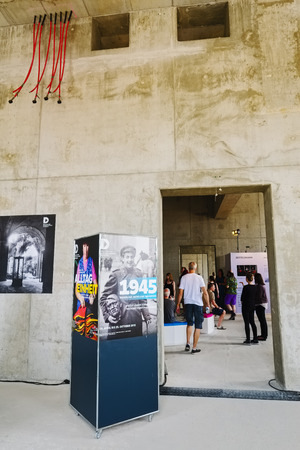 mensch: Open house at Berlin Palace - Humboldt Forum, Berlin, Germany Editorial