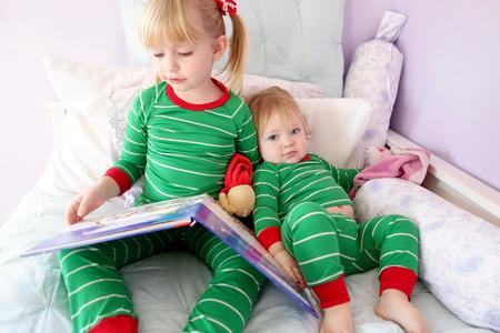 storytime: siblings reading