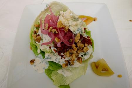 chopped salad Stok Fotoğraf