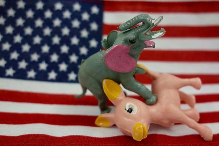 primaries: Republicans and Democrats Election
