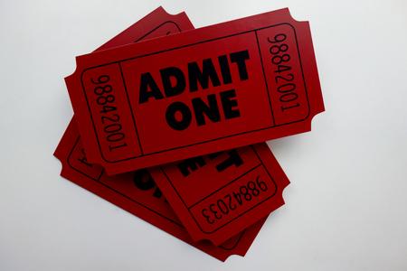 admit: Admit One Movie Ticket