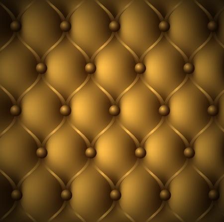 sofa viejo: Lujo de cuero marr�n Patr�n