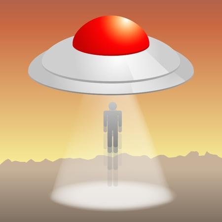 platillo volador: Ufo está secuestrando hombres