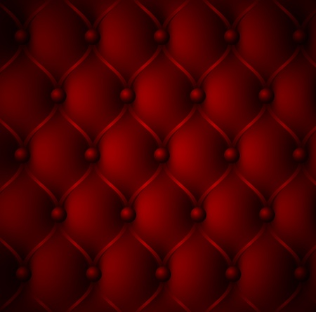 sofa viejo: Royal rojo textura de cuero