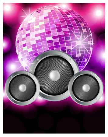 fiesta dj: Music Party Vectores