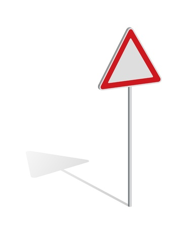 Traffic sign with place for your symbol Stock Vector - 11703555